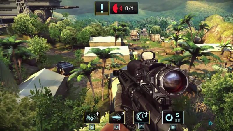 Sniper Fury Android, iOS, Windows Phone, Windows